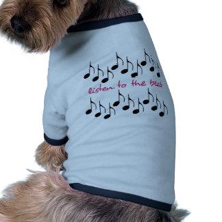 Hören Sie zum Schlag Hunde T Shirt