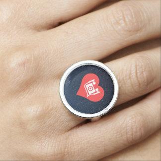 hörendes Symbol Ringe