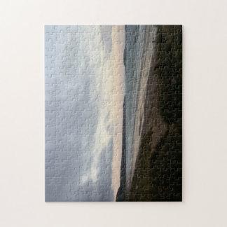 Horizont des Gower Strand-Foto-Puzzlespiels Puzzle