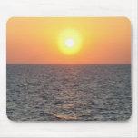 Horizont Griechenlands, Ägäisches Meer am Sonnenun Mauspads