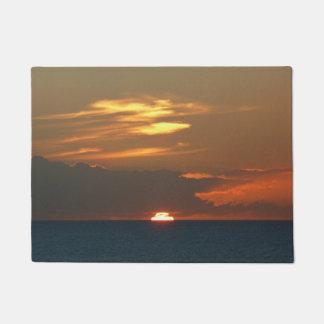 Horizont-Sonnenuntergang Türmatte