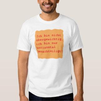 horizontal benachteiligt shirts