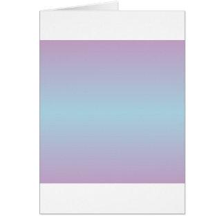 Horizontale hellblaue und lila Steigung Karte