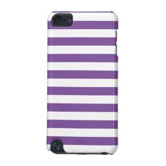 Horizontale lila Streifen iPod Touch 5G Hülle