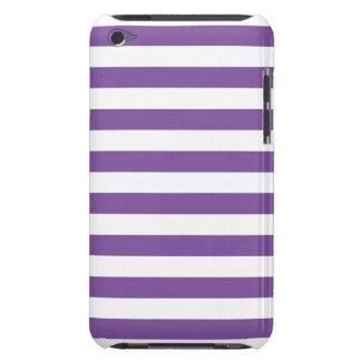 Horizontale lila Streifen iPod Touch Case-Mate Hülle