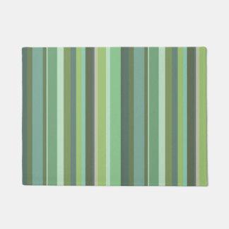 Horizontale Streifen des Olivgrüns Türmatte