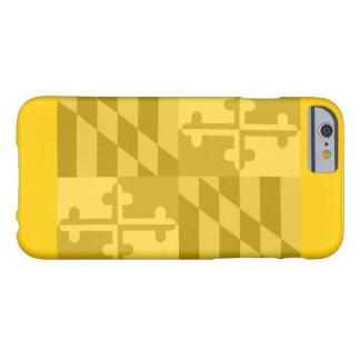 (Horizontaler) Telefonkasten Maryland-Flagge - Barely There iPhone 6 Hülle
