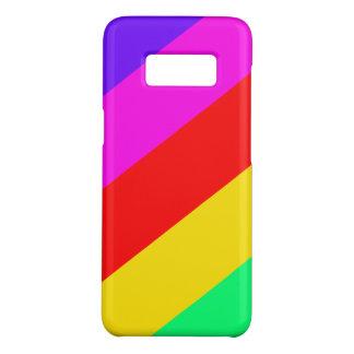 Horizontales Regenbogen-Streifen-Muster Case-Mate Samsung Galaxy S8 Hülle