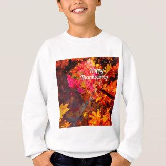 Horn von viel mit Blumen zum Dank Sweatshirt