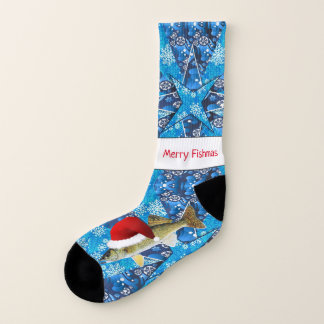 Hornhautfleck-hässliches Weihnachten Socken