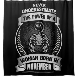 Horoskop November Duschvorhang