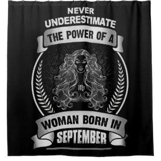 Horoskop September Duschvorhang