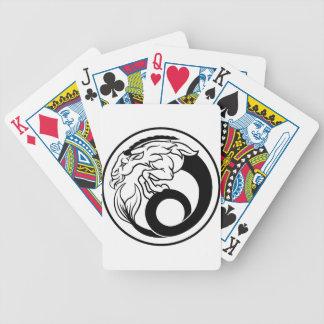 Horoskop-Steinbock-Tierkreis-Zeichen Bicycle Spielkarten