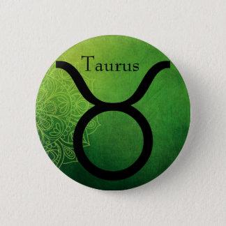 Horoskop-Tierkreis-astrologischer Runder Button 5,1 Cm