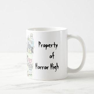Horror-Highschool Kaffeetasse