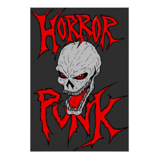 Horror-Punk Poster