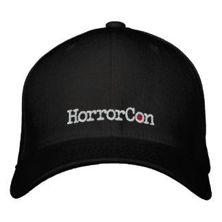 HorrorCon Logo gestickter Flexfit Hut Bestickte Baseballkappen