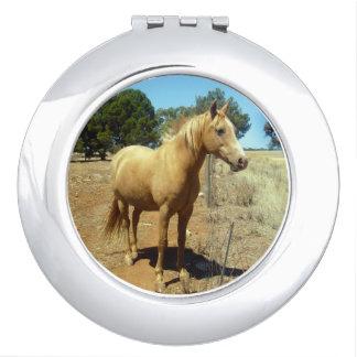 Horse_Beauty (5), _Compact_Mirror. Schminkspiegel