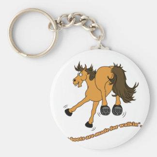Horse boots schlüsselanhänger