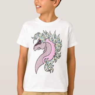 horse head quilt style T-Shirt