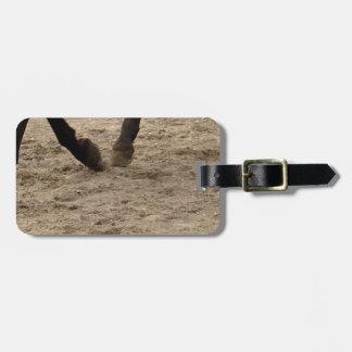 Horse hooves gepäckanhänger