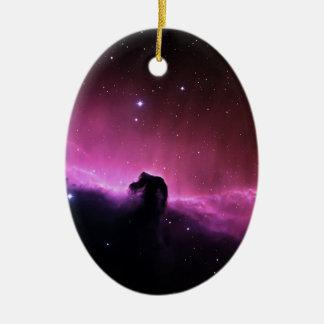 Horsehead Nebelfleck Barnard 33 die NASA Ovales Keramik Ornament
