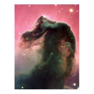 Horsehead Nebelfleck Postkarte