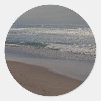 Horsfall Strand, Oregon Runder Aufkleber
