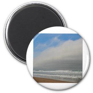 Horsfall Strand, Oregon Runder Magnet 5,7 Cm