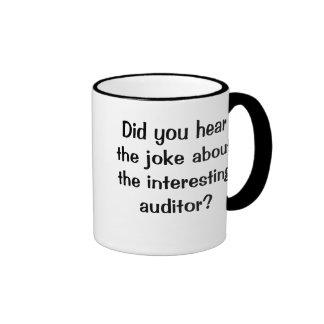 Hörten Sie den Witz…? - Lustiger Wirtschaftsprüfer Kaffee Tassen