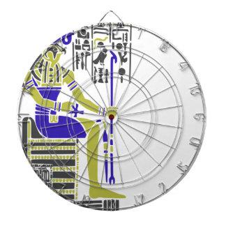 Horus der Falke Egyption Heiroglyph Dartscheibe