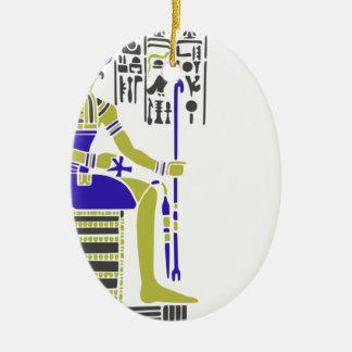 Horus der Falke Egyption Heiroglyph Keramik Ornament