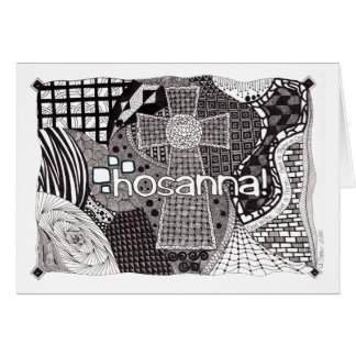 Hosanna! Leere Karte