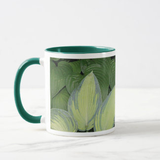 Hosta-Stillleben Tasse