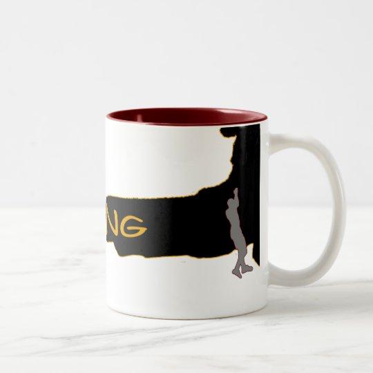 hot climbing cup zweifarbige tasse