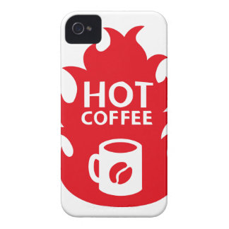 HOT COFFEE iPhone 4 Case-Mate HÜLLE