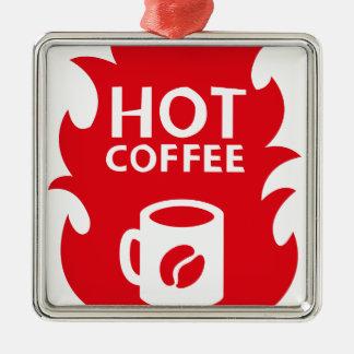 HOT COFFEE SILBERNES ORNAMENT