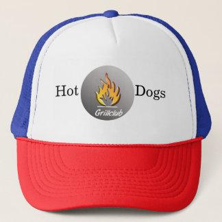 Hot Dogs Grill  Trucker Kappe