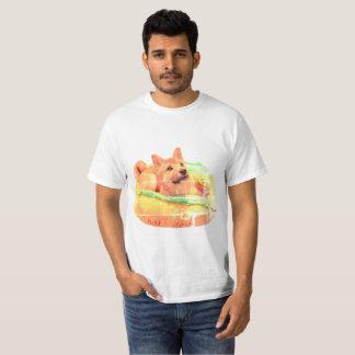 Hotdog Shiba T - Shirt