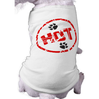 Hotdog-T - Shirt Ärmelfreies Hunde-Shirt