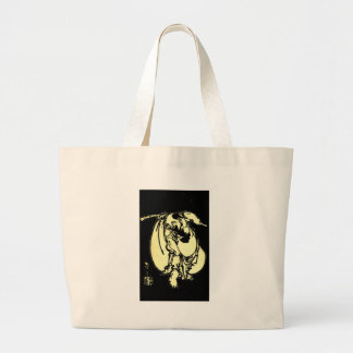 Hotei durch Katsushika, Hokusai Ukiyo-e Jumbo Stoffbeutel