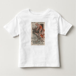 Hotel Colorado u. Bad-Plakat T Shirts