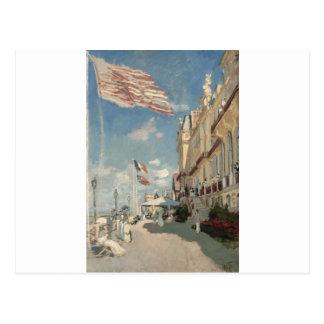 Hôtel DES Roches Noires, Trouville (1870) Postkarte