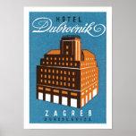 Hotel-Dubrovnik ~ Zagred Plakat