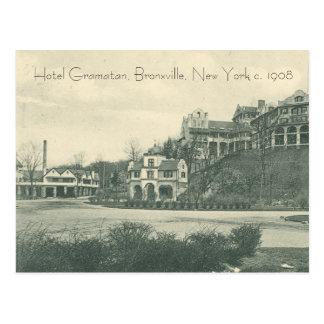 "Hotel Gramatan, Bronxville""Vergangenheits"" Karte"