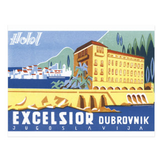 Hotel-Hobelspäne Dubrovnik Postkarte