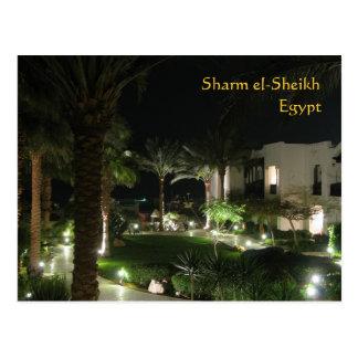 Hotel im Sharm el-Sheikh Postkarte