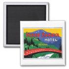 Hotel Japan Nikko Kanaya Quadratischer Magnet