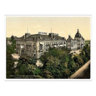 Hotel Kaiserhof und Bäder Augustas Victoria, Postkarte