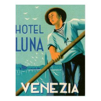 Hotel Luna Venezia Postkarte